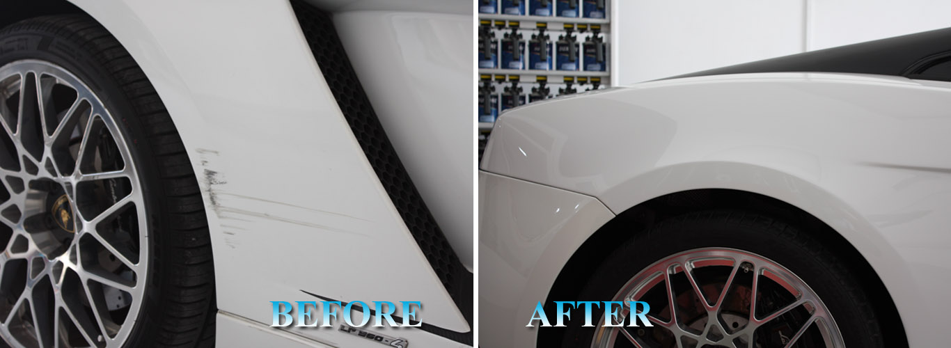 paint scuff repair dubai