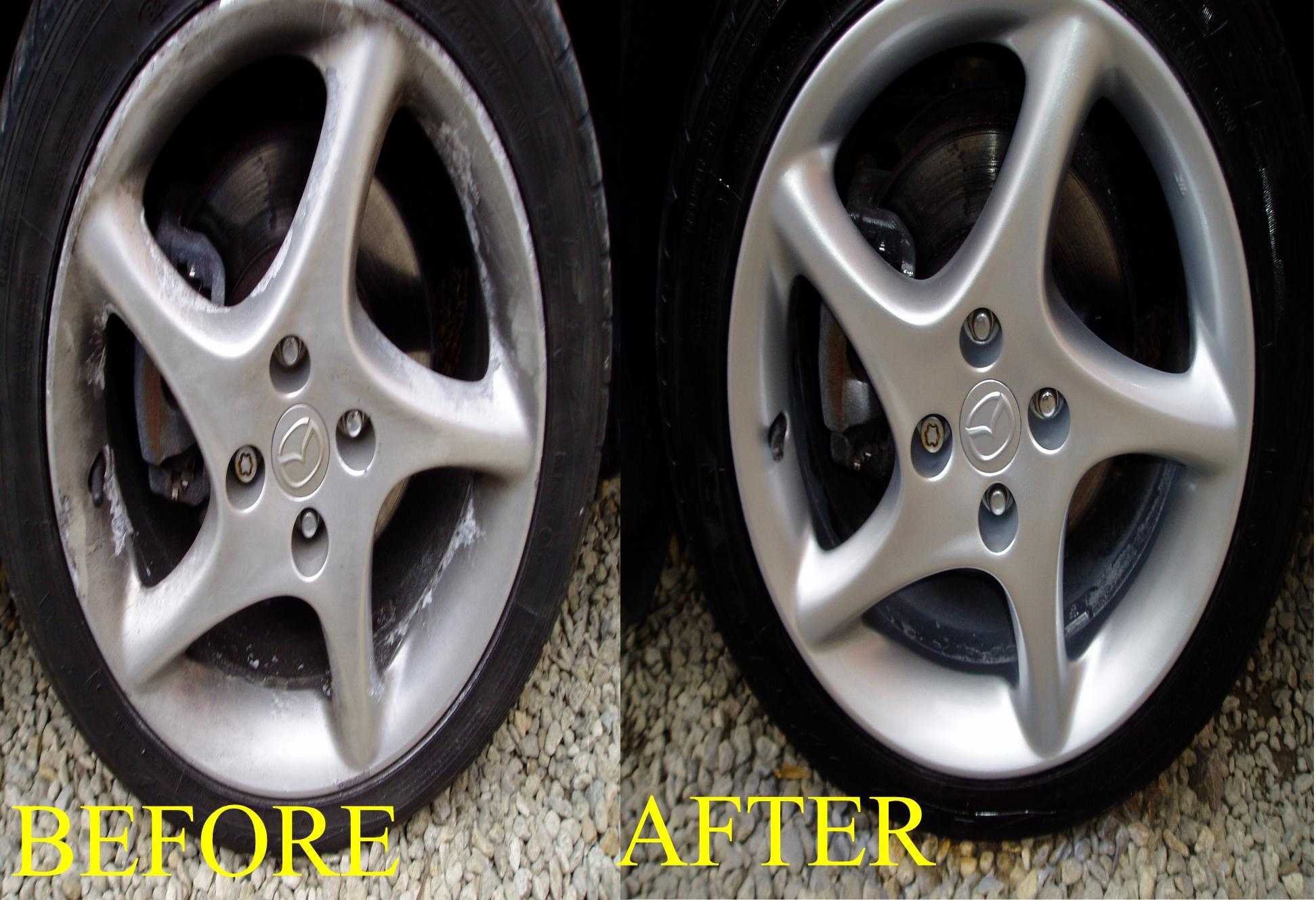 alloy wheel and rim repair Dubai