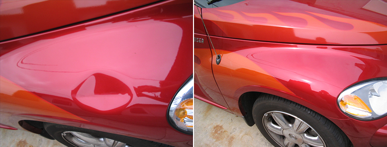 paintless dent removal dubai